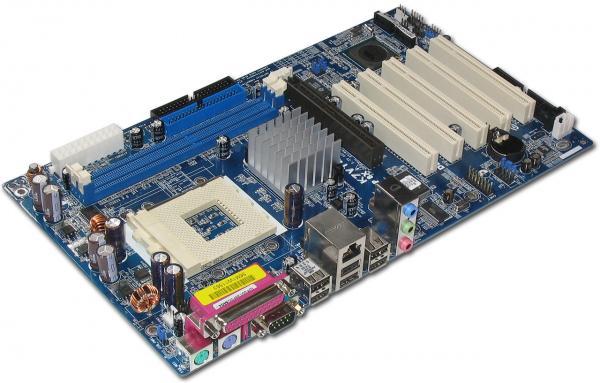 Hauptplatine eines PC (Bild © Wikimedia Commons)