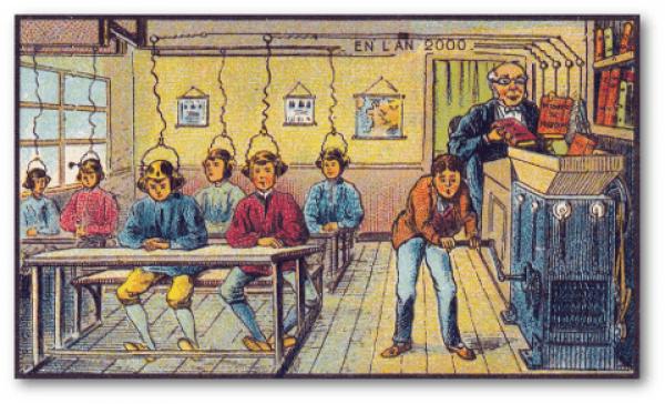 France in XX. Century: School (Bild © Wikipedia)
