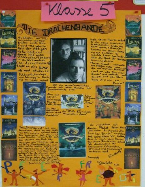 Poster über einen Kinderbuch-Autor (Bild © FMG)