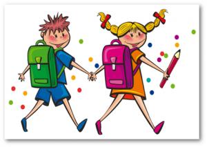 Back to school (Zeichnung © Openclipart)